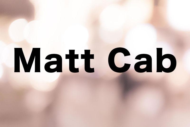 【カバー曲多数】Matt Cabの歌声がハートに染み渡る