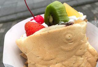 【TAIYAKI CAFE】たい焼きとタピオカドリンクのお店が青葉通りにオープン!